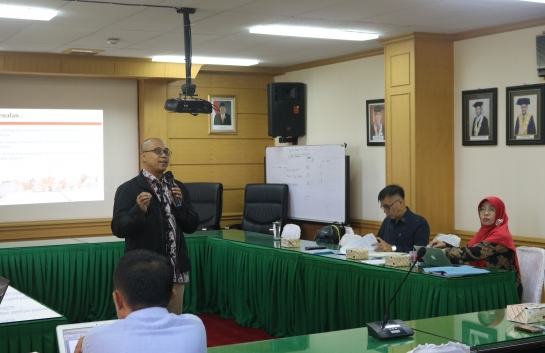 Lokakarya Blended Learning di FMIPA Universitas Andalas